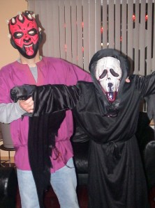 Father & Son.Halloween